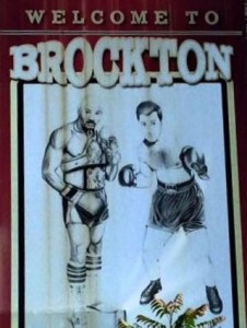 Brockton Boxers - Marvelous Marvin Hagler and Rocky Marciano